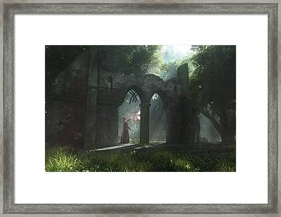 A Touch Of Magic Framed Print by Melissa Krauss