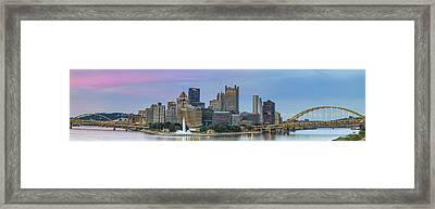 A Touch Of Pink Framed Print by Jennifer Grover