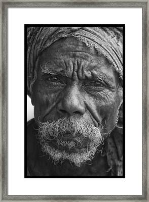 A Touch Of Timor Framed Print by David Longstreath