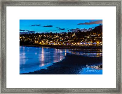 A Town Called White Rock - By Sabine Edrissi Framed Print