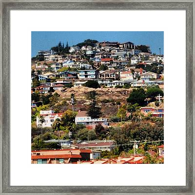 Pismo Beach, Southern California Framed Print
