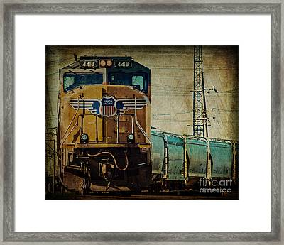 A Train To Chicago Framed Print by Emily Kay