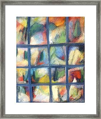 A Tree Coming Into It'sown Framed Print by  Tolere