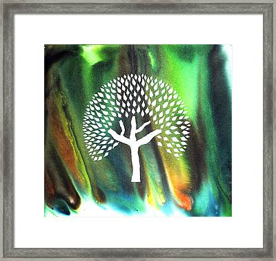 A Tree I Dreamt Of  Framed Print by Sumit Mehndiratta