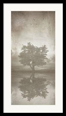 Analog Digital Art Framed Prints