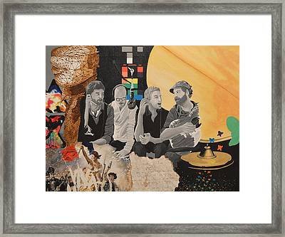 A Tribute Framed Print by Leah Price