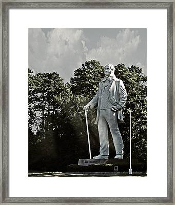 A Tribute To Courage Framed Print