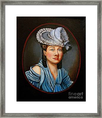 A Tribute To Lady Constance Framed Print