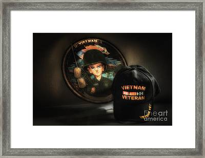A Tribute To Viet Nam Vets Framed Print by Arnie Goldstein