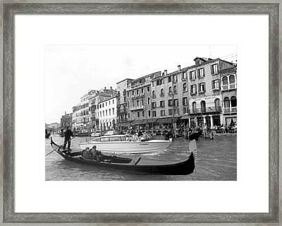 A Trip To Remember II In Black And White Framed Print