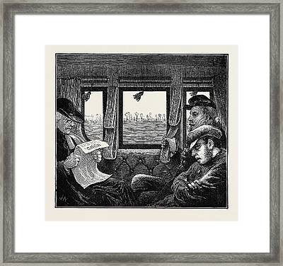 A Trip To The Pyrenees Soldier, Priest Framed Print