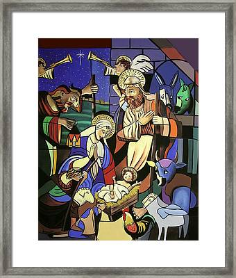A True Story Framed Print by Anthony Falbo