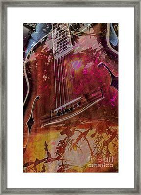 A Tune In The Woods By Steven Langston Framed Print by Steven Lebron Langston