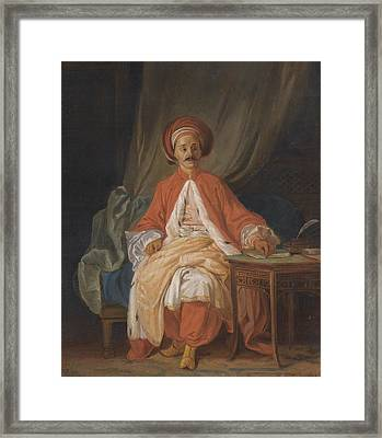 A Turkish Nobleman Framed Print by Celestial Images