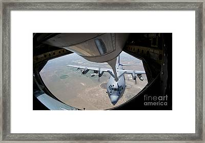 A U.s. Air Force Ac-130w Stinger II Framed Print by Stocktrek Images