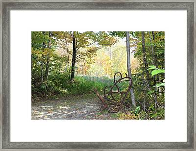 A Vermont Ghost Town Framed Print by William Alexander