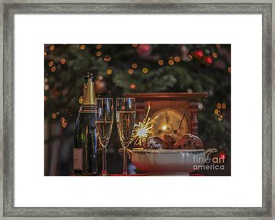 A Very Happy New Year Framed Print by Patricia Hofmeester
