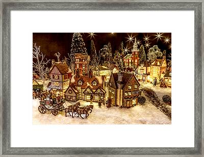 A Very Merry Christmas Framed Print