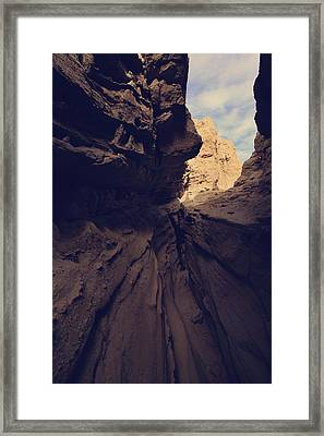 A Very Tight Squeeze Framed Print by Laurie Search