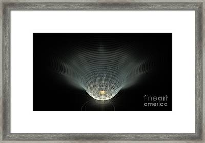 A Vibrant Candle Framed Print by Peter R Nicholls
