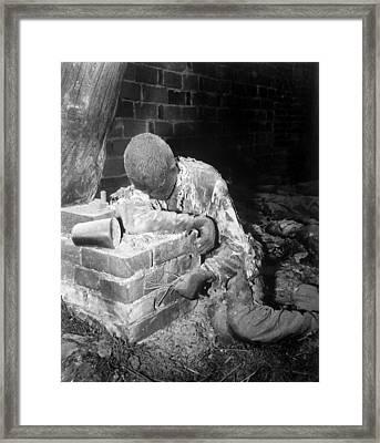 A Victim Of The Gardelegen Massacre Framed Print