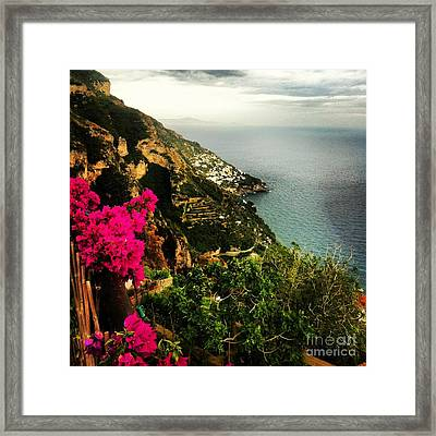 A View From Above Framed Print by H Hoffman