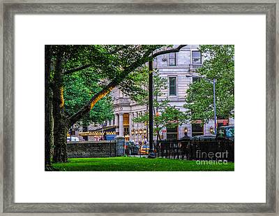 A View From Central Park Framed Print