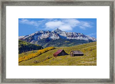 A View From Last Dollar Road Framed Print