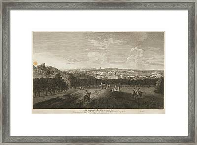 A View Of Greenwich Park Framed Print by British Library