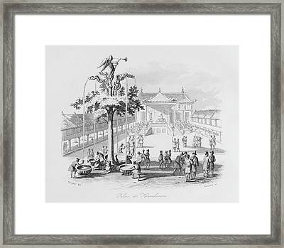 A View Of Karakorum, Capital Framed Print by Mary Evans Picture Library