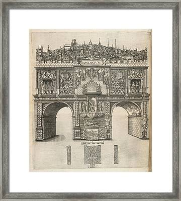 A View Of London Framed Print by British Library