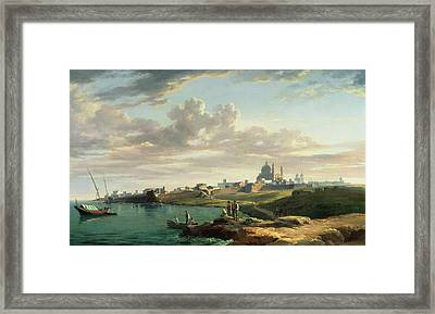 A View Of Montevideo Framed Print
