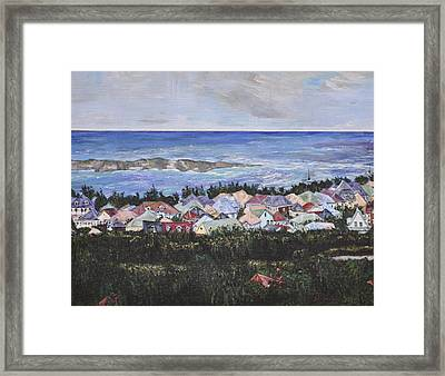 A View Of Orient Bay Framed Print
