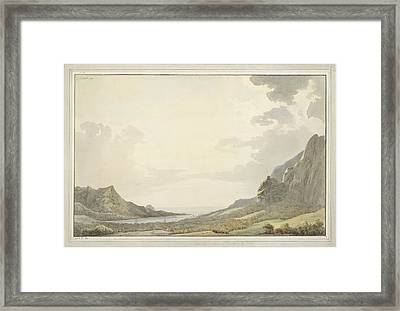 A View Of Papetoai Bay Framed Print by British Library