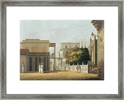 A View Of Part Of St. Thome Street Framed Print