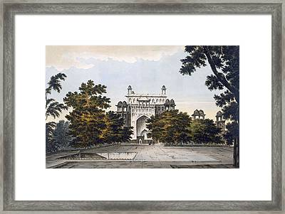 A View Of Part Of The Tomb Framed Print by William Hodges