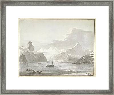 A View Of Snug Corner Cove Framed Print by British Library