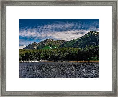A View Of Tenakee Springs Framed Print