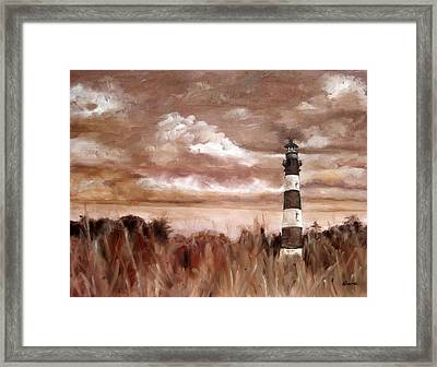 A View Of The Outer Banks Framed Print