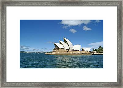 A View Of The Sydney Opera House Framed Print by Anonymous