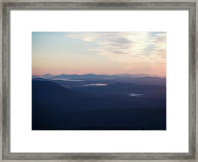 A View Of The Wilds Of Maine Framed Print