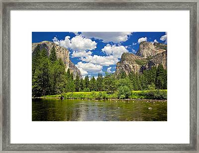 A View Of Yosemite Framed Print