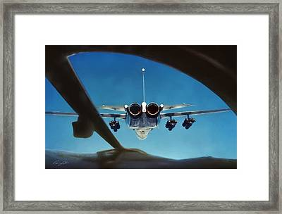 A View To A Kill Framed Print
