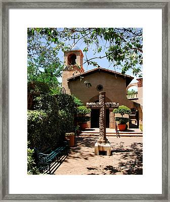A Village Chapel Framed Print