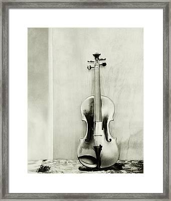 A Violin Framed Print