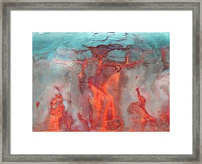 A Vision Of Hell Framed Print