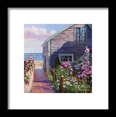 Shore Line Framed Prints