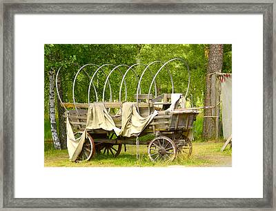 A Wagon Framed Print by Tommytechno Sweden