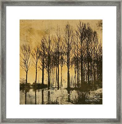 A Walk In France- Lithograph Framed Print by Deborah Talbot - Kostisin