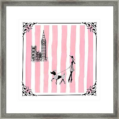 A Walk In London Framed Print